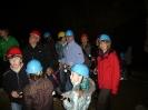 Vor dem Einstieg in die Höhle ...