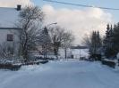 Hauptstrasse Niederhersdorf im Winter